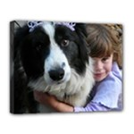 Rupert & Lucy Stretched Canvas Print - Canvas 14  x 11  (Stretched)