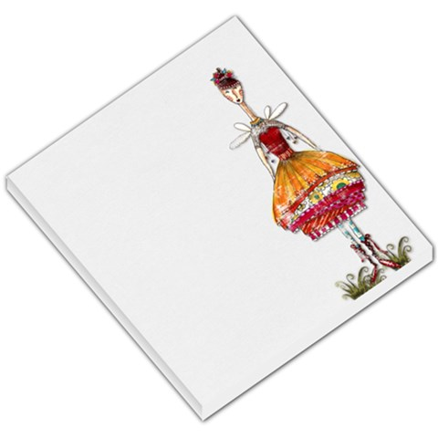3 75 Inch Square Notepad By Cheryl Peacock   Small Memo Pads   3ieef2ahfsv0   Www Artscow Com