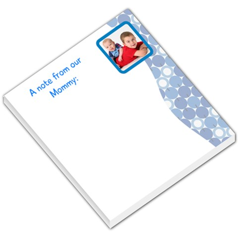 A Note From Our Mommy By Dawn Trumbull   Small Memo Pads   Sbmml4w22ymh   Www Artscow Com