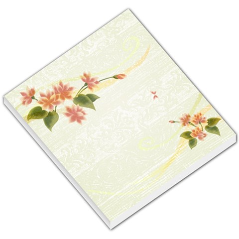Green Small Flower By A Marie Ricketts   Small Memo Pads   Shabiqd3nxlc   Www Artscow Com