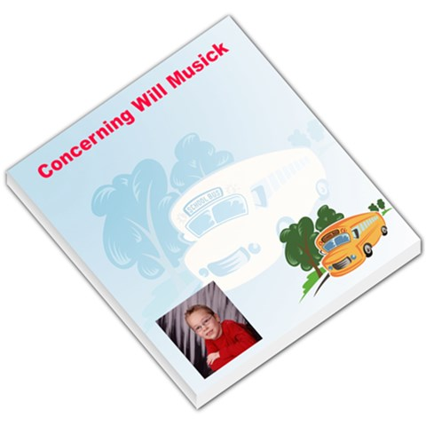 Backtoschool001 By Angelique Musick   Small Memo Pads   Rukuw03c2ngb   Www Artscow Com