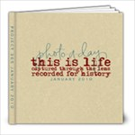 JANUARY P365 ALBUM - 8x8 Photo Book (20 pages)