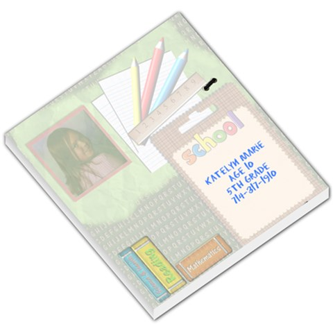 Notes By Julia Summer Urbanski   Small Memo Pads   Gk1acianbn45   Www Artscow Com