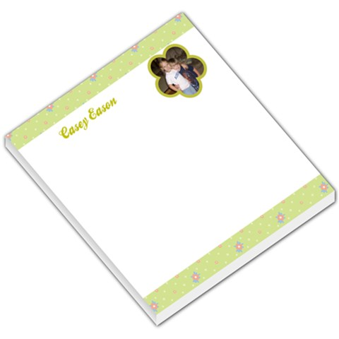 Flower 004 By Casey Leigh Sharpe Eason   Small Memo Pads   W2w3rae0cx6u   Www Artscow Com