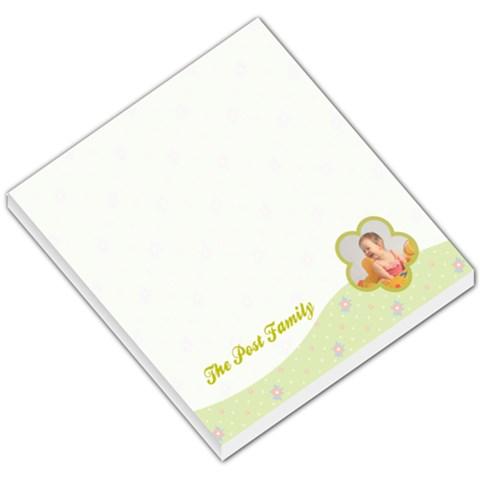 Abby Memo Pad By Joshua Post   Small Memo Pads   Qcpno3biywz5   Www Artscow Com