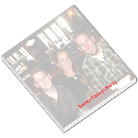 Danny Nancy Marty By Nancy Beaucage   Small Memo Pads   Vk2lc7ekp9ki   Www Artscow Com