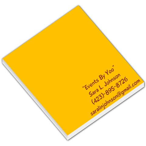 My Free Memo Pad By Sara Johnson   Small Memo Pads   At30b7i8ywt4   Www Artscow Com