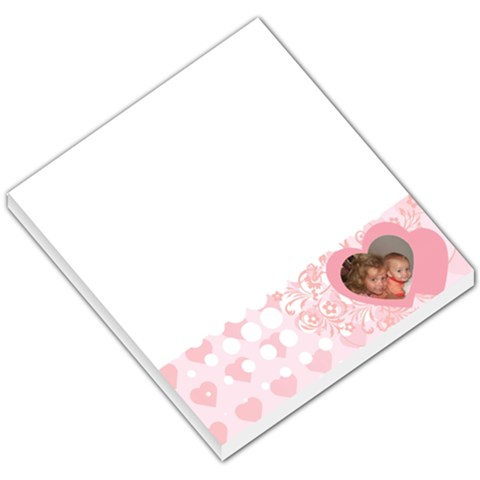 Love002 By Crysta Feaster   Small Memo Pads   Uo646x8rnwrq   Www Artscow Com