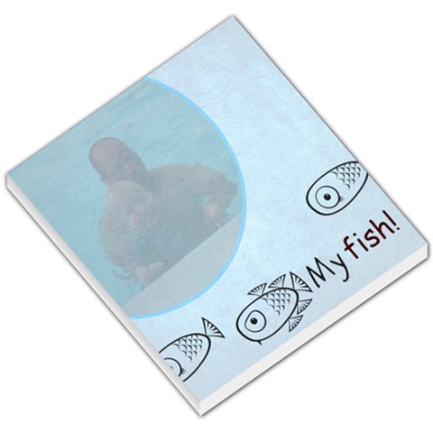 My Fish By Heather Miles Goodwin   Small Memo Pads   9cb4j0lvsucw   Www Artscow Com
