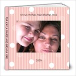 my girls book - 8x8 Photo Book (20 pages)