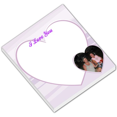 Love001 By Dea Bates   Small Memo Pads   Moxqc4ixpgbg   Www Artscow Com