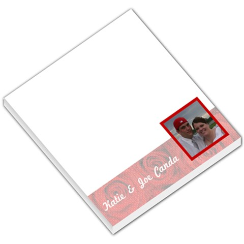 Love004 By Katie Canda   Small Memo Pads   Fth9u1mrbgli   Www Artscow Com