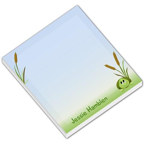 Free Memo Pad By Jessica Hamblen   Small Memo Pads   D4pnd309bg7u   Www Artscow Com