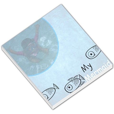 Mermaid By Katy   Small Memo Pads   F4nxctrja3jc   Www Artscow Com