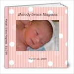 Melody Grace Magness - 8x8 Photo Book (20 pages)