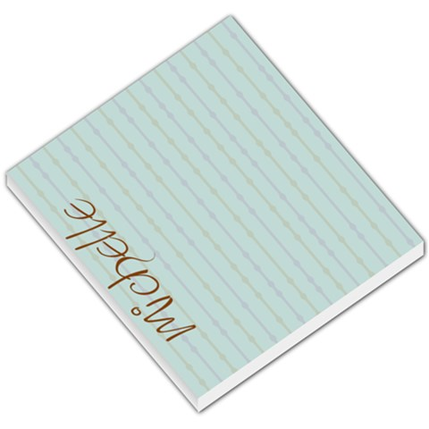 Michelle By Michelle Bye Miller   Small Memo Pads   I806cxti673h   Www Artscow Com