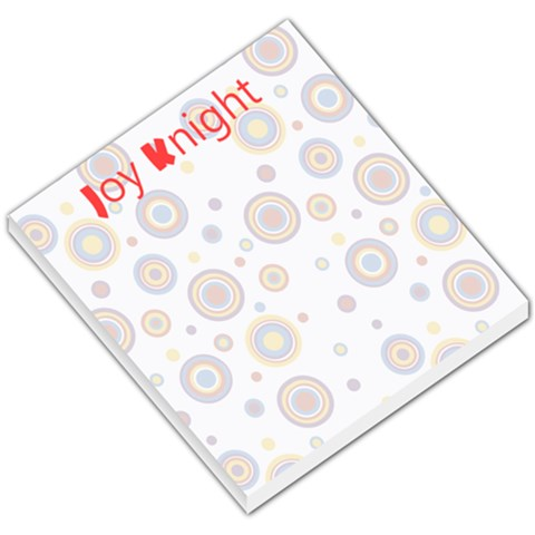 Notepad By Joy Windham Knight   Small Memo Pads   Us7h9qmrxgz9   Www Artscow Com