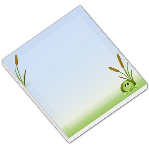 Shion Turtle By Sarah Thorn   Small Memo Pads   Sx4bg4hzke3t   Www Artscow Com
