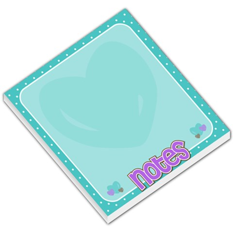 Notepad By Amberle Williams   Small Memo Pads   3qxhmyvz19oa   Www Artscow Com