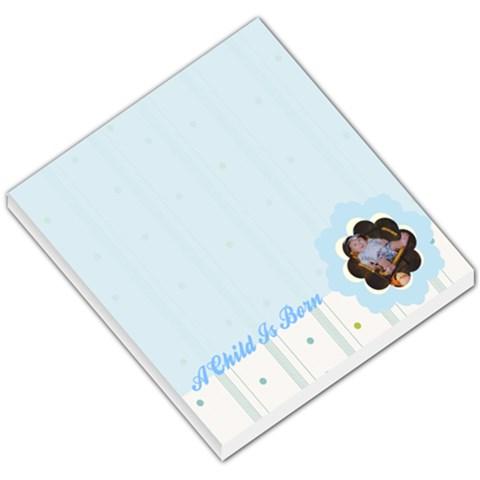 Baby 002 By Tonya Smith   Small Memo Pads   7z9vab731jo0   Www Artscow Com