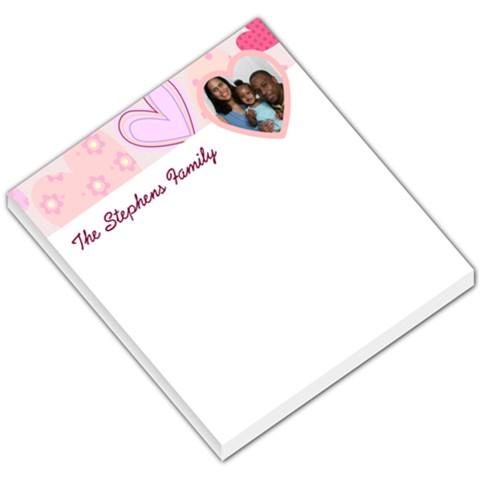 Family Memo By Tiffany   Small Memo Pads   9wpm7jw6r999   Www Artscow Com