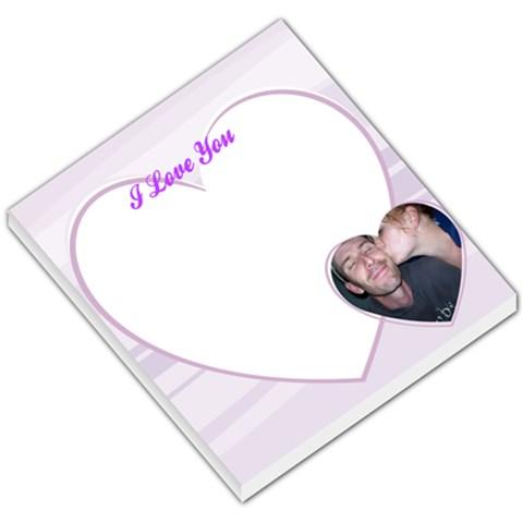 Love001 By Rachel Inwood   Small Memo Pads   P92wavgu8a88   Www Artscow Com