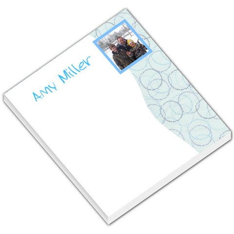 Mike1 By Amy Smith Miller   Small Memo Pads   Ekkj2uyifp35   Www Artscow Com