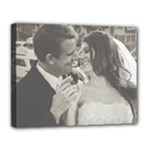 Steve & Mac s wedding - Canvas 14  x 11  (Stretched)