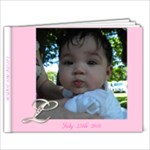 Baptism Book - 9x7 Photo Book (20 pages)