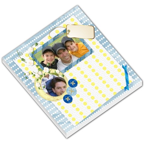 Happy Family  By Joely   Small Memo Pads   2cqmvo63vr8p   Www Artscow Com