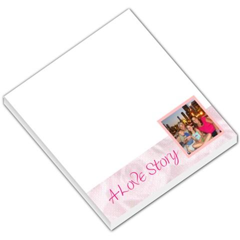 Love003 By Erin Kemp Hunt   Small Memo Pads   Utv4c2d1ik1l   Www Artscow Com