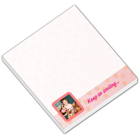 Pink Theme By Amy Laplante Liddle   Small Memo Pads   77xf529off3t   Www Artscow Com