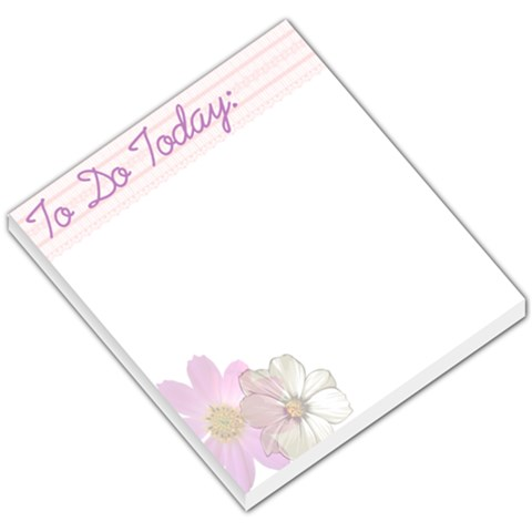 Flower Memo By Melody Jean Roy   Small Memo Pads   Cmg1lay8cy1g   Www Artscow Com