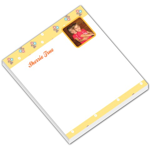 Flower 003 By Sherrie True   Small Memo Pads   Y44jfpon0ari   Www Artscow Com