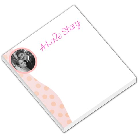 Love Story Pad   Made For Free!! By April Smith   Small Memo Pads   8anxzuu1xclj   Www Artscow Com