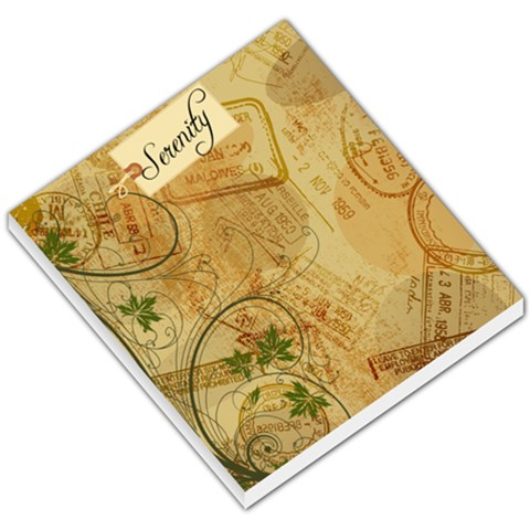 Whimisical Travel Serenity By Serenity Goff   Small Memo Pads   V8cwrqe8ob8a   Www Artscow Com