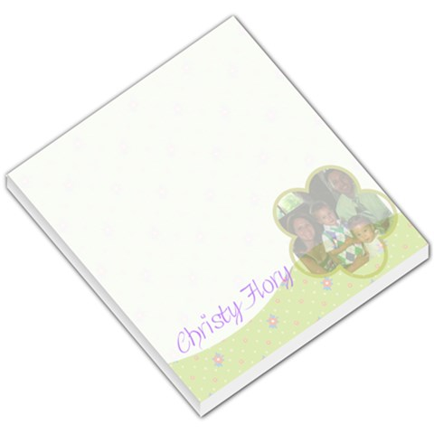 Notepad By Christy Husk Flory   Small Memo Pads   Ykn86kv4u974   Www Artscow Com