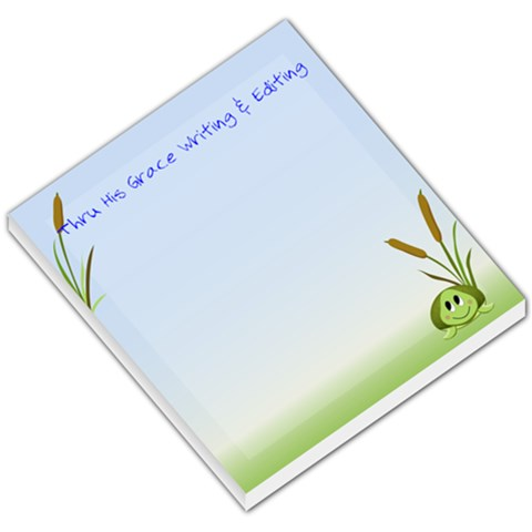 Shion Turtle By Hanne Moon   Small Memo Pads   A08fjn1up2iw   Www Artscow Com