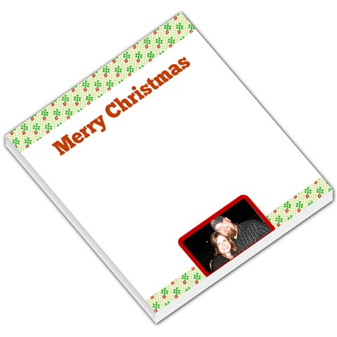 Holiday Notepad By Crystal Montgomery Smith   Small Memo Pads   Tgyf0ayjuivk   Www Artscow Com