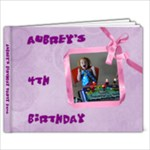 Aubrey s 4th birthday - 9x7 Photo Book (20 pages)