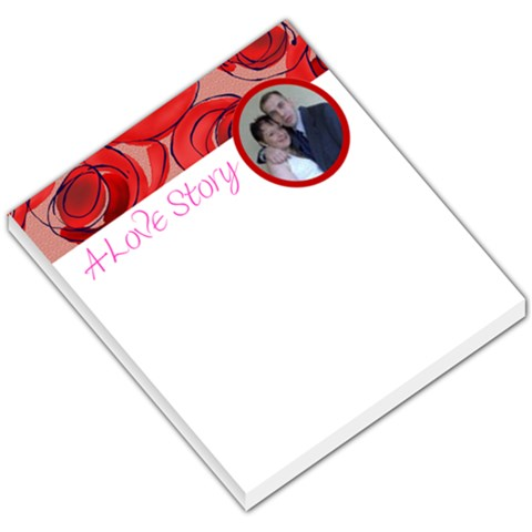 Love007 By Stephen Dooley   Small Memo Pads   3viox8yxbtvn   Www Artscow Com