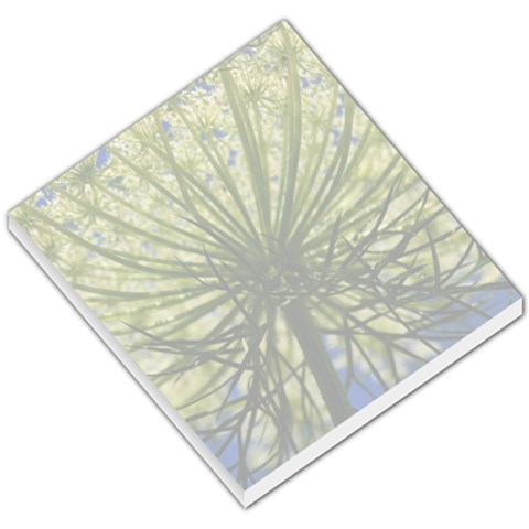Queen Anne s Lace Small Memo Pad By Jennifer Sneed   Small Memo Pads   G5s7mr1vmhzn   Www Artscow Com
