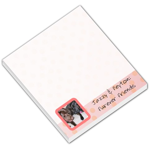 Pups By Amber Vanrooyen   Small Memo Pads   6pl21a747m92   Www Artscow Com