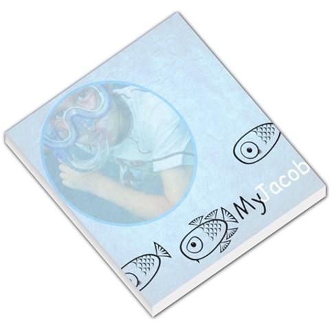 Fish Notepad By Julie Gates   Small Memo Pads   Zftd5uwxj9b7   Www Artscow Com