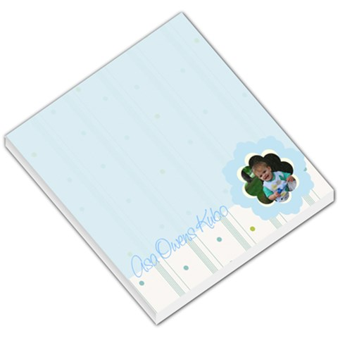 Baby Notepad By Becca Kubo   Small Memo Pads   70w1lqaefolr   Www Artscow Com