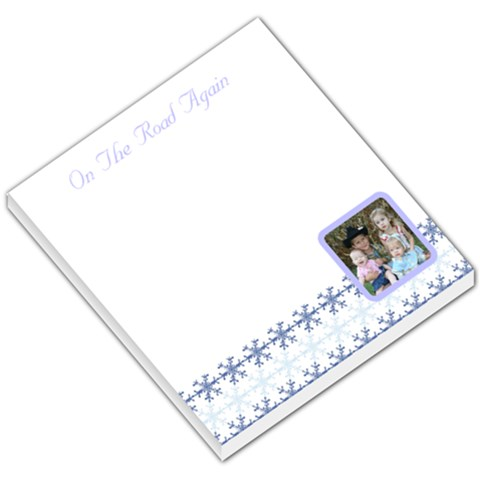 Holiday002 By Tammie Mcdow   Small Memo Pads   Vhg9ntbeiy8l   Www Artscow Com