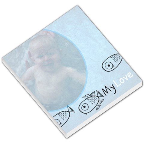 Fish By Christina Backus   Small Memo Pads   Yol92niomdef   Www Artscow Com