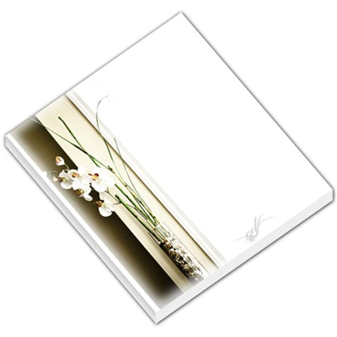 Orchid Memo Pad By Jeff Moralde   Small Memo Pads   Mpdrnh8xr6tt   Www Artscow Com