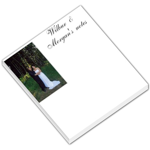 Wilbur & Morgan s Notes  By Wilbur M Spence   Small Memo Pads   D9q7rvwye2f6   Www Artscow Com
