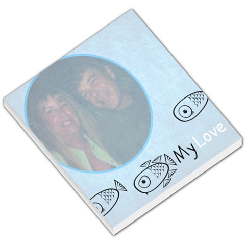 Fish By Sharon Zimmerman   Small Memo Pads   I5nksvorc5z9   Www Artscow Com